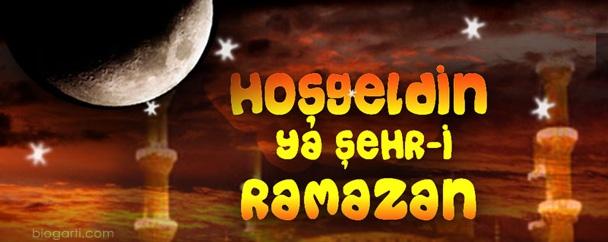Hoşgeldin ramazan