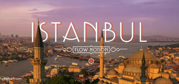 İstanbul Hayranlarına Özel: Flow Motion İstanbul