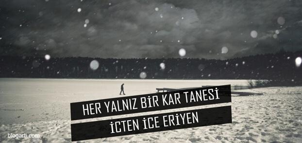 Kar Sözleri Kar Mesajları