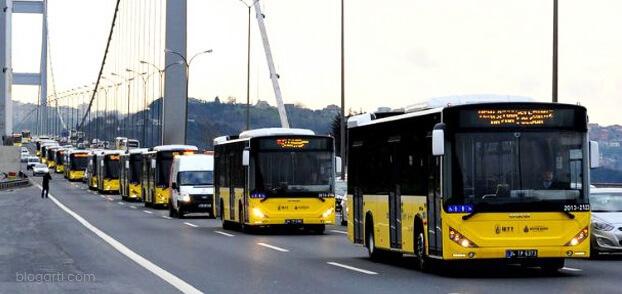 İstanbul'un En Uzun Mesafeli 5 Otobüs Hattı