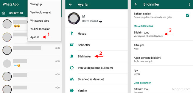 WhatsApp Aramalarını Kaydetme