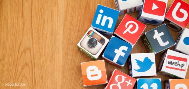 sosyal medya ikon