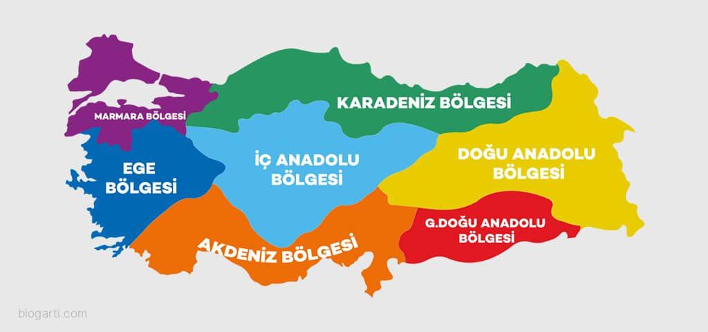 Türkiye'nin bölgelere göre lezzetleri